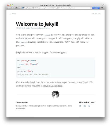 jekyll highlight themes kasper jekyll themes templates
