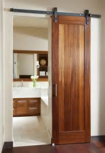 Barn door rustic interior room ider pocket doors