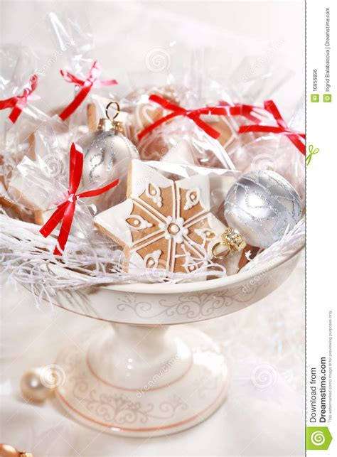 gingerbread gifts for guests royalty free stock image