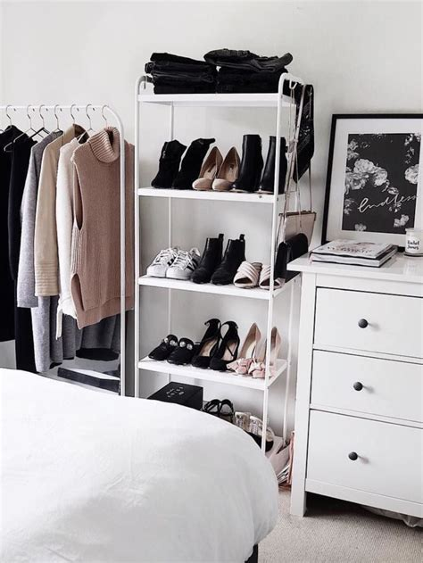 shelves for clothes in bedroom best 25 shoe shelves ideas on pinterest closet shoe