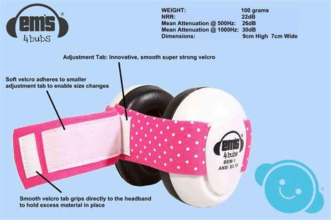 Ems 4bubs Baby Earmuff Army Black Headset Penutup Telinga Bayi buy em s for bubs babies earmuffs demak outdoor timber hardware