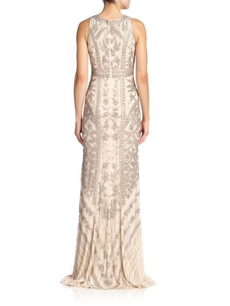 beaded halter gown beaded halter dress ejn dress