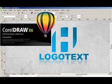 tutorial corel draw basico crear logotipo en corel draw tutorial b 225 sico youtube