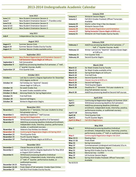 Arizona State Calendar Arizona State Calendar 2014 2015