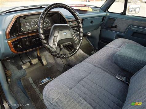 1988 ford f150 xlt lariat regular cab 4x4 interior color