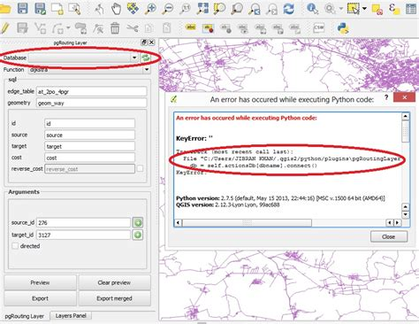 qgis routing tutorial unable to use pgrouting layer qgis plugin with osm2po tool