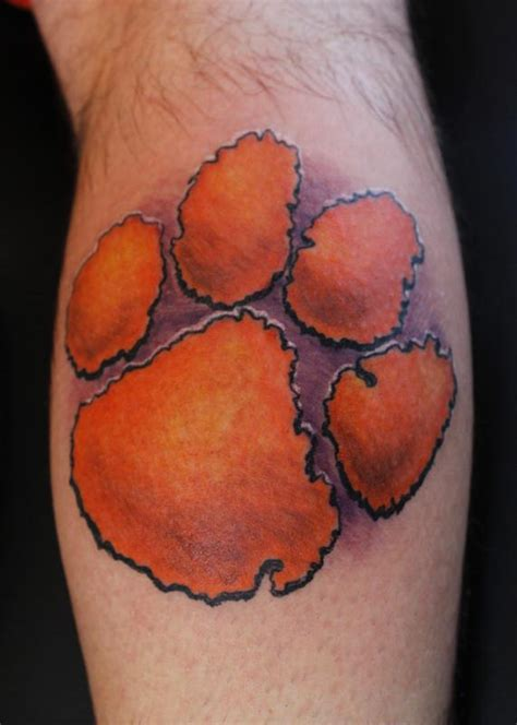 clemson tattoo 2016 national chions by steve phipps tattoonow