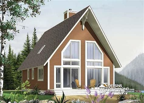 D 233 Tail Du Plan De Maison Unifamiliale W4925 Rustic Slab House Plans