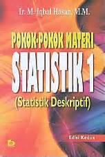 Buku Pokok Pokok Statistik 1 toko buku rahma pokok pokok materi statistik 1 statistik