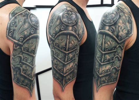 tattoo shoulder armor 53 amazing armor shoulder tattoos