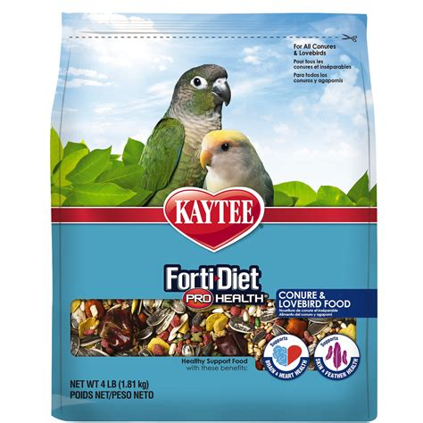 kaytee forti diet pro health conure lovebird food petco