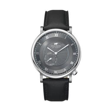 Jam Tangan Pria Giordano P111 02 Silver Leather Kulit Original jual braun buffel jam tangan pria leather silver hitam bb1002 1331 harga kualitas