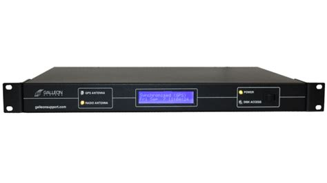 galleon systems gps ntp server appliance  accurate