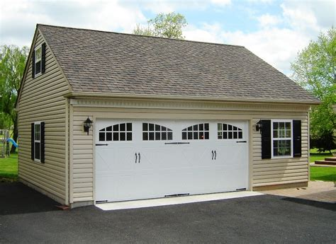 Custom 2 Car Garage by 2 1 2 Car Or Larger Garages Garages By Opdyke