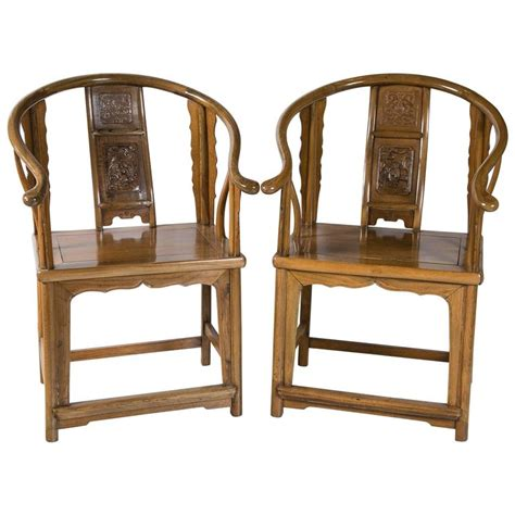 antique horseshoe chairs 19th century for sale at