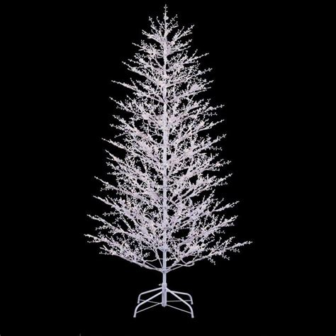 ge 7 ft white winter berry branch artificial