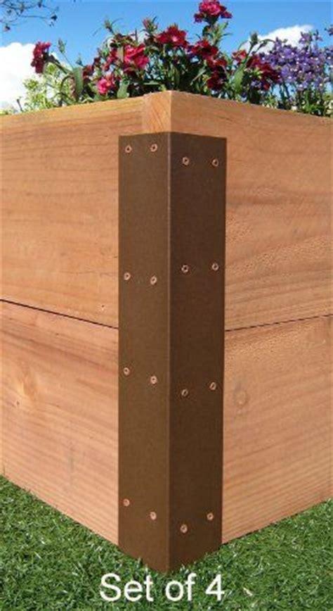 raised garden bed corner brackets raised garden bed corner brackets standard for 20 quot h