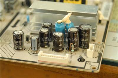 samsung tv capacitor type repair kit samsung ln t4053h lcd tv capacitors