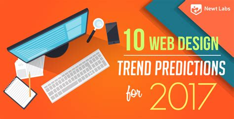 design trend 2017 10 web design trend predictions for 2017 infographic