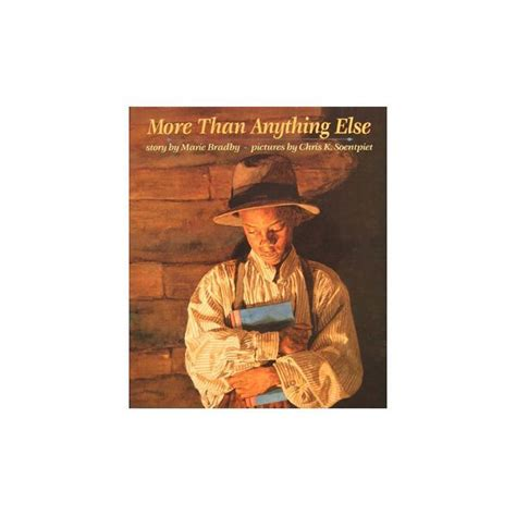 more than anything books quot more than anything else quot lesson plan teaching