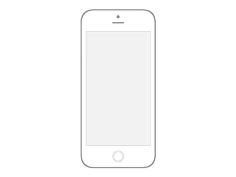 iphone wireframe template collection of iphone wireframe psds wireframes