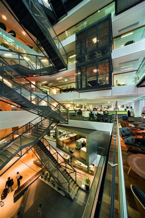 kayak startup tech office glazed interiors in reflective orange white and glass interior 1000 images about architecture office on pinterest