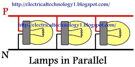 lighting in home wiring diagram parallel on lighting