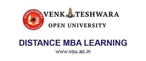 Distance Mba In It by Venkateshwara Open Distance Mba Admission