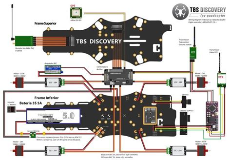 fpv wire diagram rc copters arduino