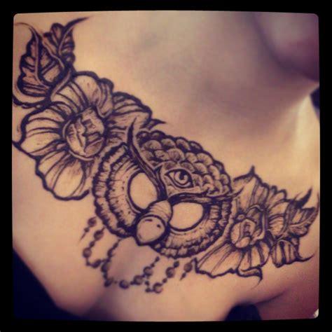 illuminati owl tattoo grey ink flowers and owl illuminati eye on chest
