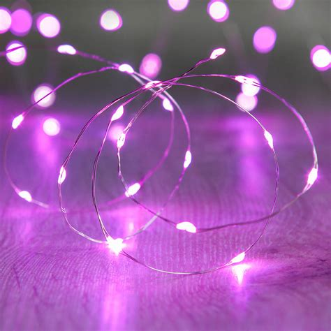 pink outdoor lights 20 pink micro lights by lights4fun