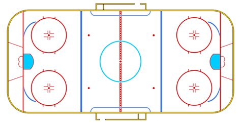 hockey rink diagrams 5 best images of half hockey rink diagram blank