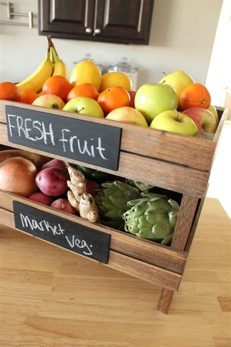 Countertop Fruit Storage by Diy Stackable Fruit Crates A New Series 30 Thursday
