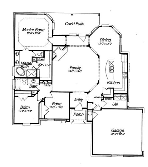 Homes With Open Floor Plans 17 Best Ideas About Open Floor House Plans On