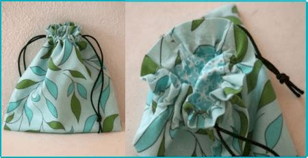 pattern lined drawstring bag lined drawstring bag free sewing tutorial patternpile