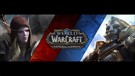 I made a Battle for Azeroth wallpaper. Thought some of you