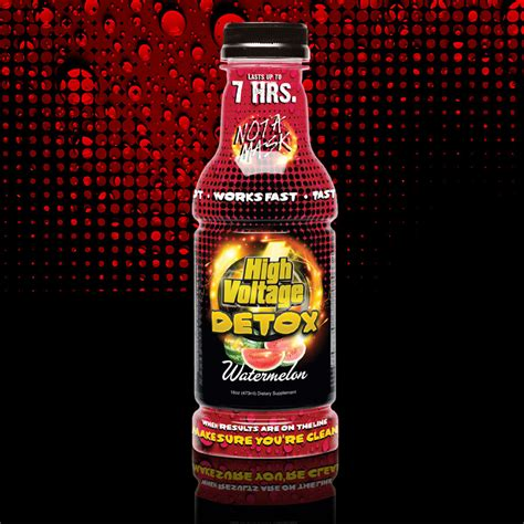 High Voltage Detox by High Voltage Watermelon 16oz High Voltage Detox