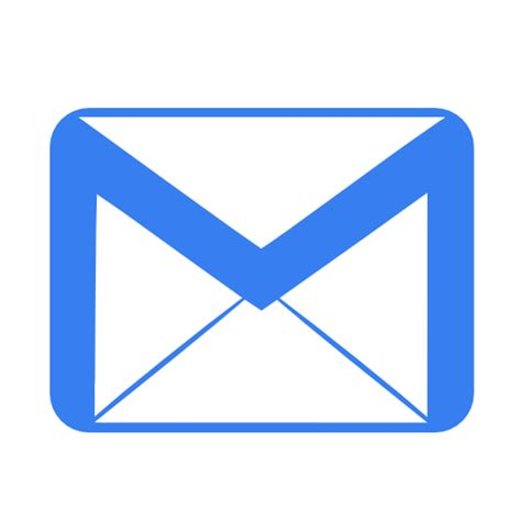 email icon 237 cone email azul livre de metronome icons