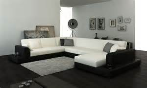 2616 modern white fabric sectional sofa