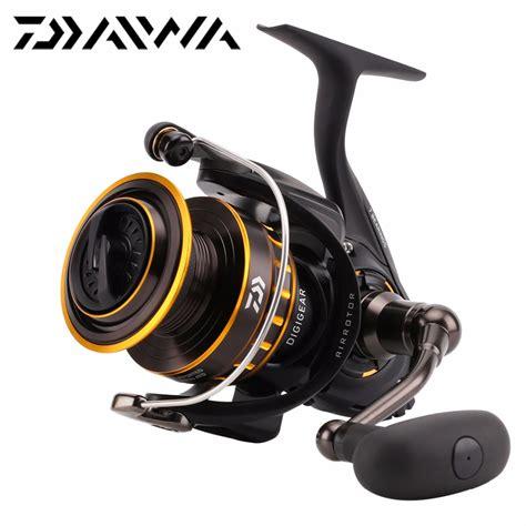 Best Seller Benang Daiwa Justron aliexpress buy daiwa bg 1500 8000 spinning fishing reel max drag 2kg 15kg 6 1bb atd metal
