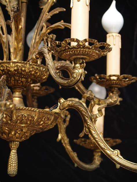 kronleuchter bronze antiker kronleuchter bronze etagen luster 10 flammig