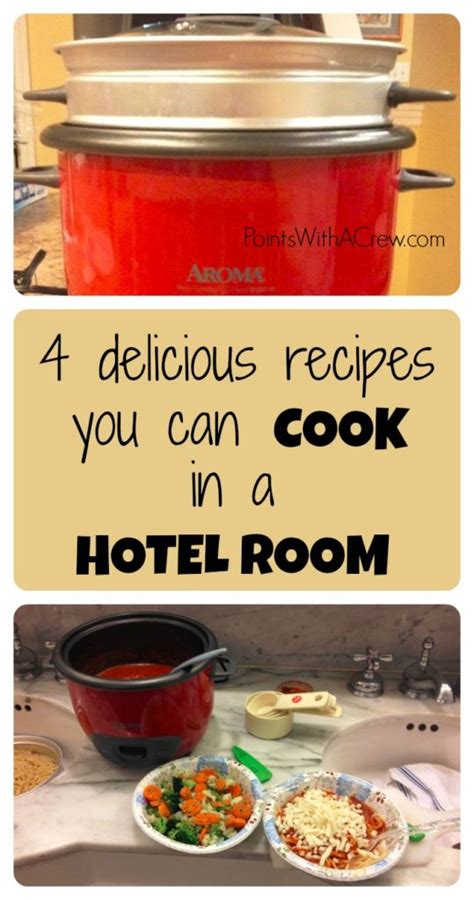 cooking in hotel room 4 rice cooker recipes for hotel room cooking points with a crew