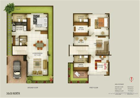 30x50 east floor plan studio design gallery best
