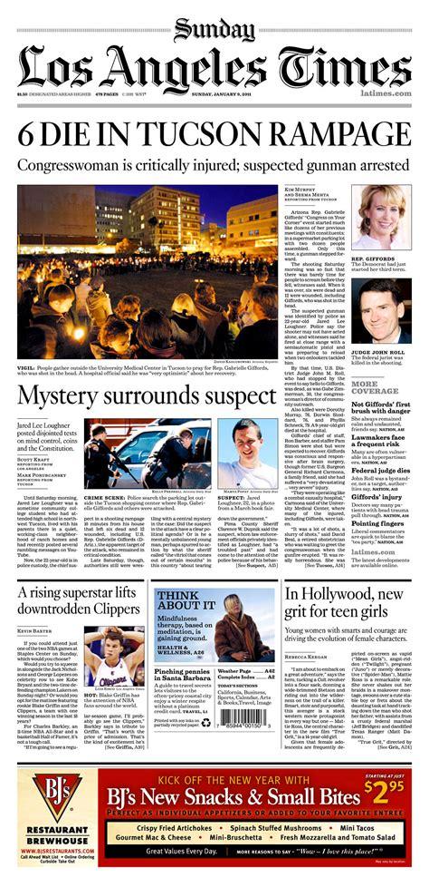 2011 s headlines data desk los angeles times