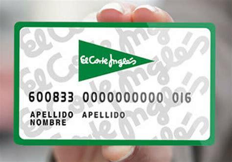 tarjeta corte ingles la tarjeta de el corte ingl 233 s se integra en repsol waylet