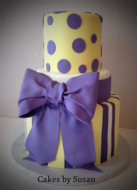 Yellow And Purple Baby Shower by Purple And Yellow Baby Shower Cake Baby Fever