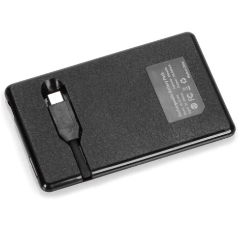 Credit Card Sized by The Credit Card Sized Cell Phone Backup Battery