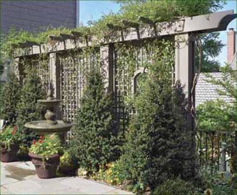 backyard lattice structures lattice and posts adding dimension to your yard