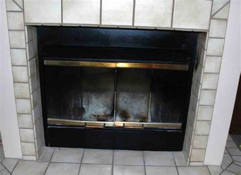 Fireplace Doors Replacement by Glass Replacement Replacement Tempered Glass For
