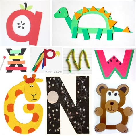 alphabet crafts for how to homeschool preschool learning activities
